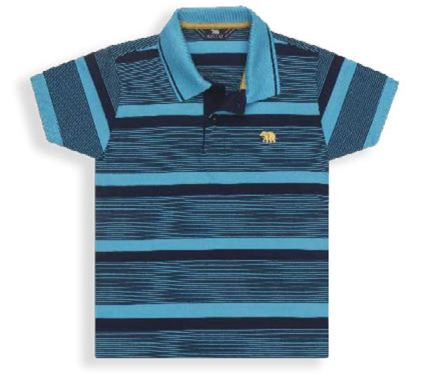 Camisa Gola Polo Listrada - Roupa para Menino é na Orquestra dos Anjos 4f7bd81f61b2a